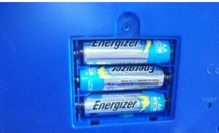 Копилка банкомат батарейки