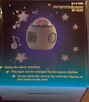 Коробка будильника со звуками природы