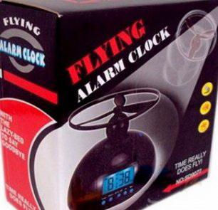 Коробка летающего будильника