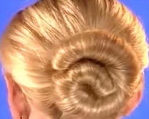 Прическа hairagami заколка