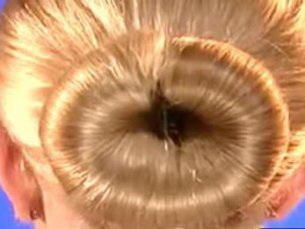Прическа hairagami