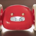 Убегающий будильник alarm-clocky