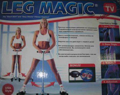 Коробка Leg Magic
