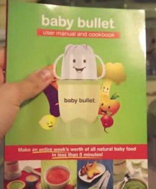 Книга рецептов Baby Bullet