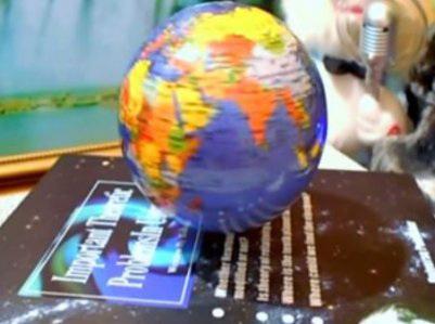 Парящий глобус
