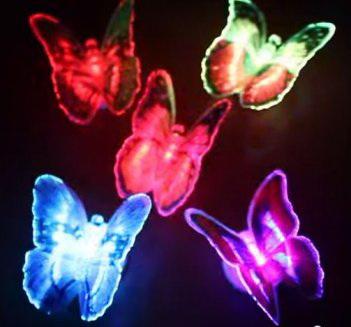 светодиодные бабочки