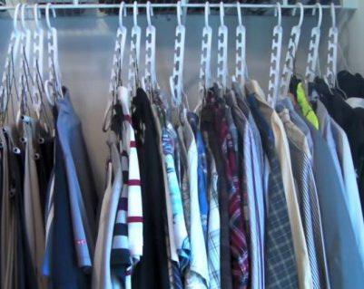 Wonder Hanger в шкафу