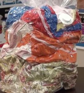 одежда в пакете Space-Bag