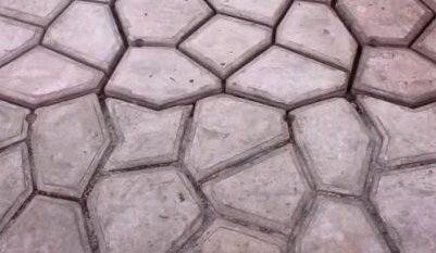 Цементная дорожка