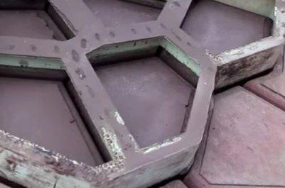 Цементная садовая дорожка
