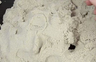 Обзор кинетического песка