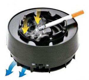 Пепельница противодымная