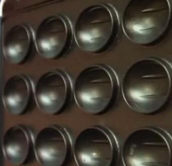 Покрытие формы для выпечки орешков