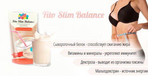 Белковый кокетйль Fito Slim Balance