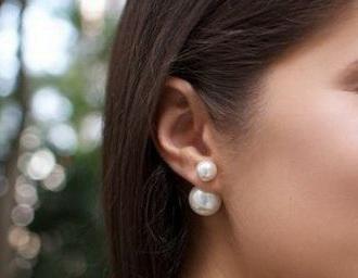 Сережки Dior