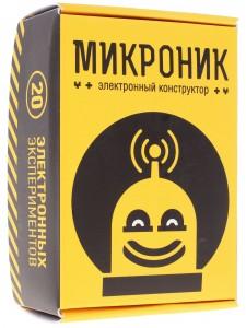 Электронный детский конструктор микроник