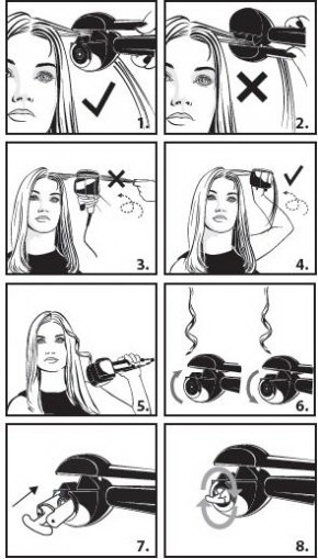 Как пользоваться BaByliss
