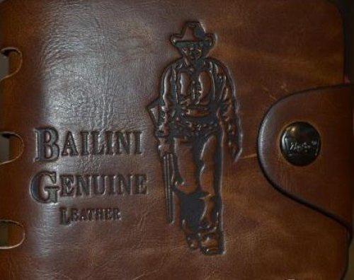 Кожаный кошелек для мужчин
