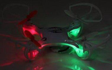 Квадракоптер с подсветкой