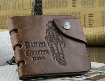 Мужской кошелек Bailini кожа