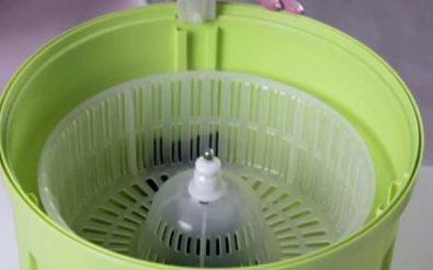 Ведро с центрифугой для полоскания
