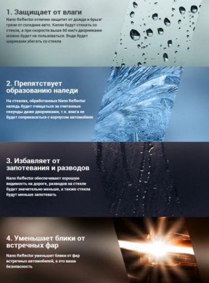 Эффект нано рефлектор