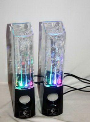 Колонки светодиодные фонтаны