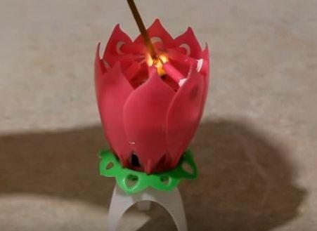Свеча на день рождения
