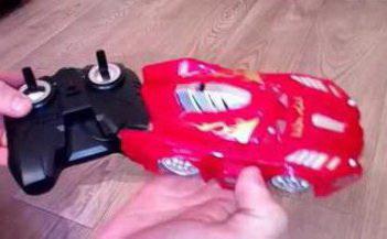 Машинка-антиграв на пульте