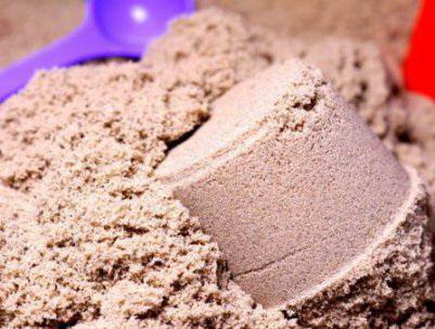 Песочница домашняя с кинетическим песком