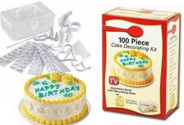 Набор 100 Piece Cake Decoration Kit