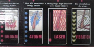 Расческа лазерная