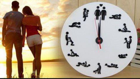 Камасутра настенные часы