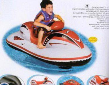 Надувной скутер с мотором JS PRO Race Rider