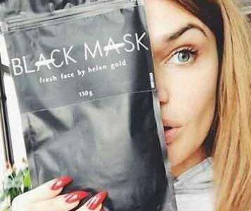 Средство от черных точек на лице с желатином
