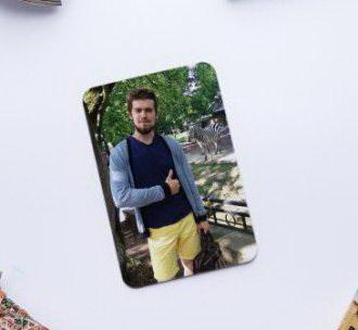 Магнит с фото на холодильник