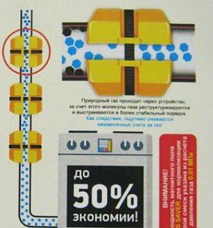 Прибор для экономии газа