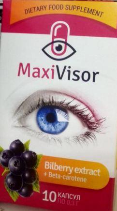 maxivisor для хорошего зрения