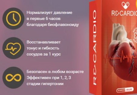 recardio препарат от гипертонии