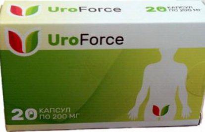uroforce капсулы для лечения мочекаменной болезни