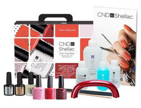 CND Shellac набор