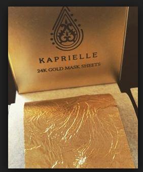 Kaprielle 24k gold маска с золотом