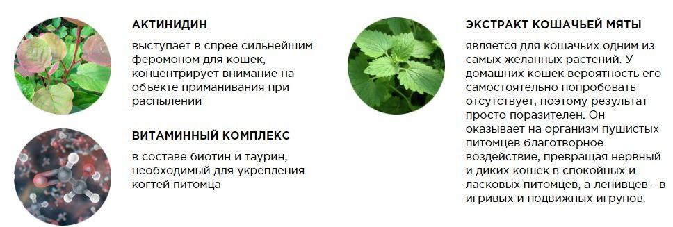 Состав когтеспрея