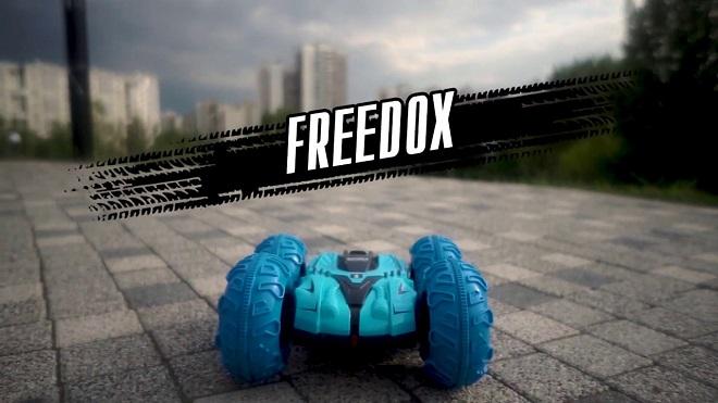 Трюковая радиоуправляемая машина FREEDOX