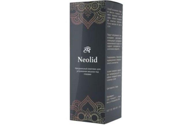 Где купить Neolid комплекс для устранения мешков под глазами