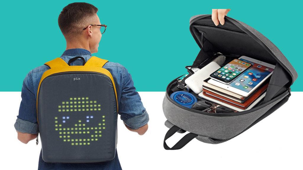 Как выбрать рюкзак с экраном