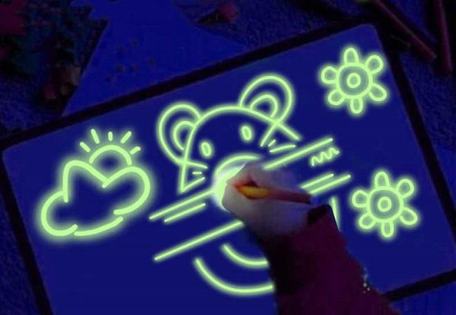 С какого возраста рисование светом заинтересует ребенка